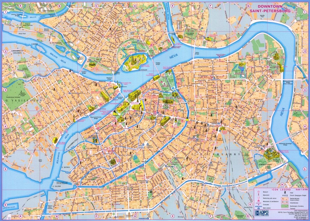 Как сделать карту санкт-петербурга 633
