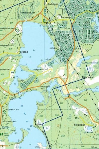 Лемболовское Озеро Карта Глубин