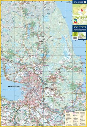 Издание содержит карту Всеволожского района, подробные планы г. Всеволожска и пос. Токсово Ленинградской области.